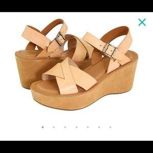 """Kork Ease Ava platform sandal with 3"""" heel"""
